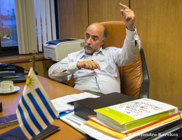 """Mieres: """"Vázquez se equivocó"""" (Foto: Alejandro Kerekes)"""