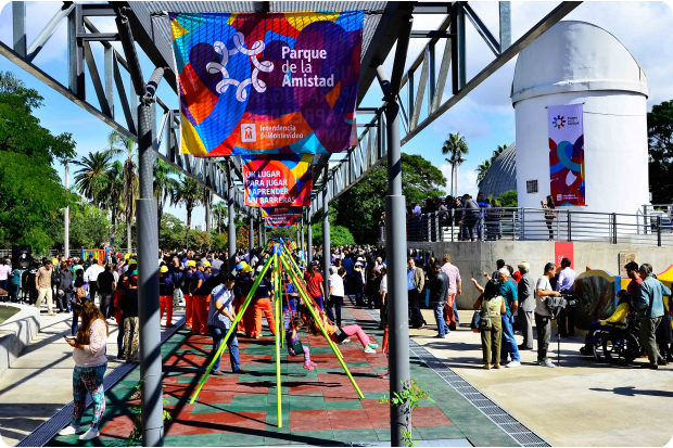 El Parque de la Amistad abre en Semana de Turismo con ingreso gratuito (Foto: IMM)