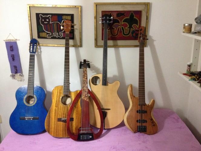 Los instrumentos de Federico Righi