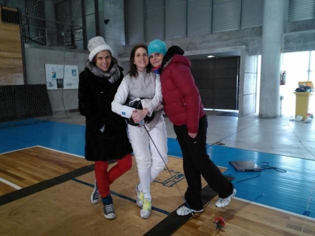 Paola y sus hermanas: Eleonora y Florencia
