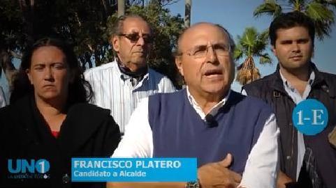 Francisco Platero podría ser alcalde del Municipio E