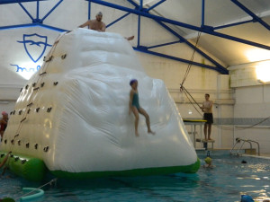 Toda la diversión en el agua