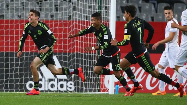 Uruguay sufrió ante México en el Mundial Sub 20