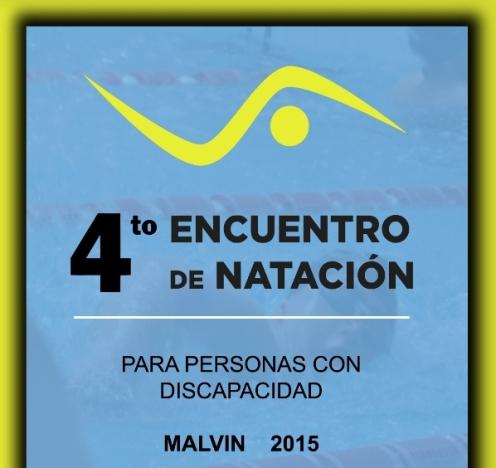 4° Encuentro de natación para personas con discapacidad