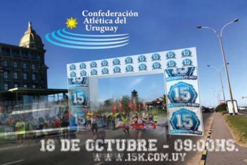 15 K en Carrasco: 18 de octubre