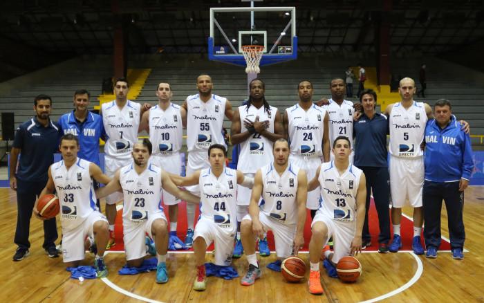 Plantel de Malvín Liga Sudamericana de Basket: