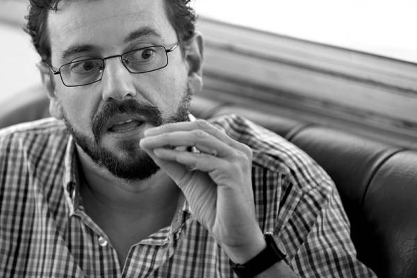 Juan Pedro Mir (foto de La Diaria)