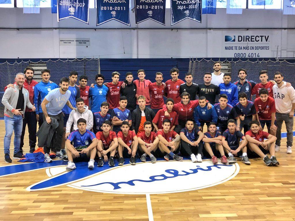 Pelota al Medio a la Esperanza en el Club Malvín junto a Bruno Fitipaldo y Marcos Cabot