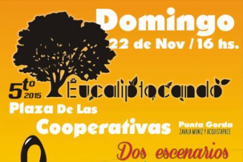 Festival Eucaliptocando el 22 de noviembre