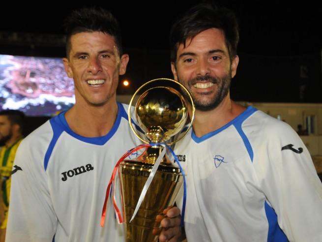 """Sarandí """"Pampero"""" Sobral y Bruno Malias (campeón del mundo)"""