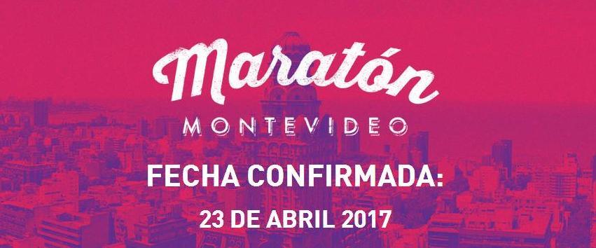 Maratón Montevideo 2017: 23 de abril