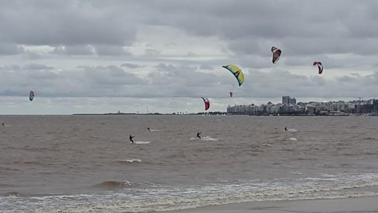 Kitesurf Uruguay en Playa Malvín