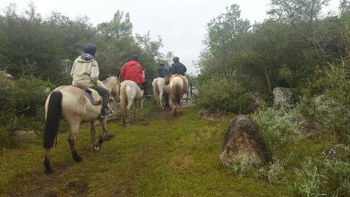Cabalgatas en las Sierras de Mahoma