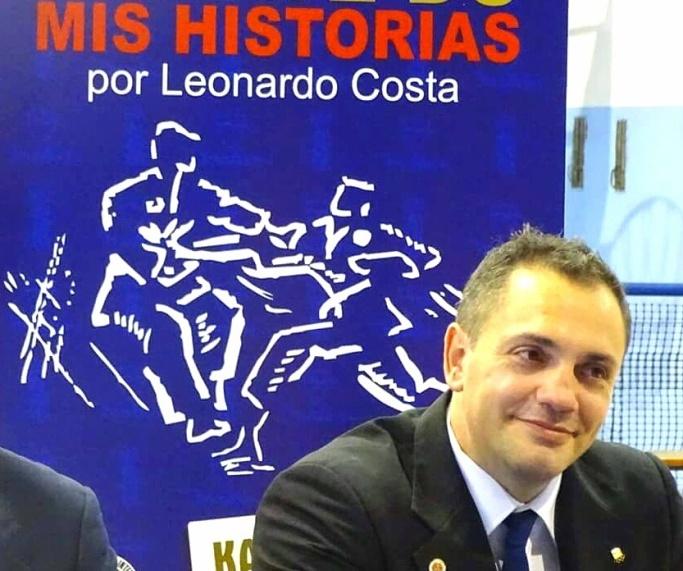 El karateca Leonardo Costa lanzó su libro Mis Historias en el Club Malvín