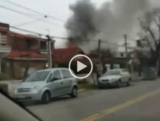 Incendio en Malvín