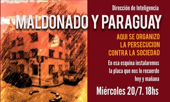 Maldonado y Paraguay: no es una esquina cualquiera