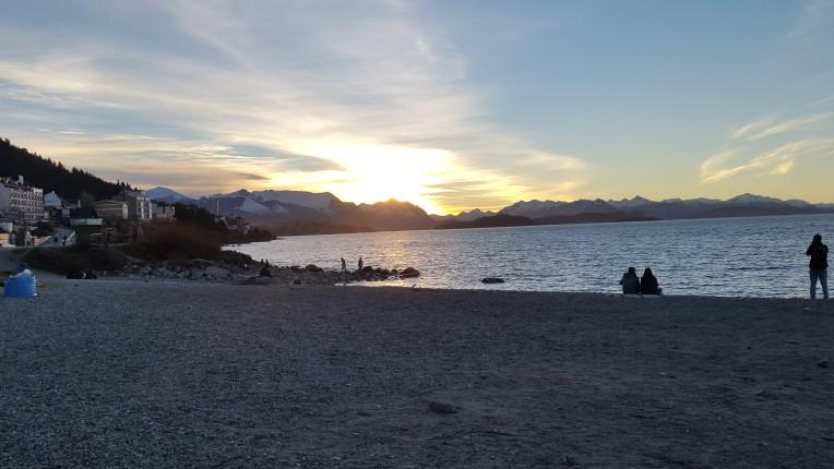 Playa del Centro: viajar a Bariloche desde Uruguay tiene sus recompensas
