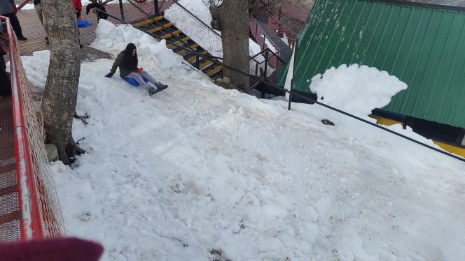Culipatín en Cerro Otto: muy seguro y entretenido