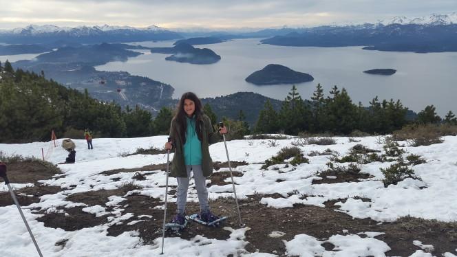 Caminar en raquetas en el Cerro Otto