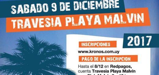 Travesía Playa Malvín 2017: sábado 9 de diciembre