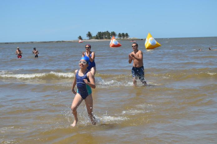 Travesía Playa Malvín 2016: los más chicos también disfrutaron