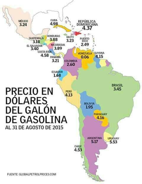 Precio combustible Uruguay: ¿cómo estamos con relación al mundo?