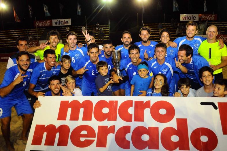 Malvín bicampeón uruguayo de Fútbol Playa