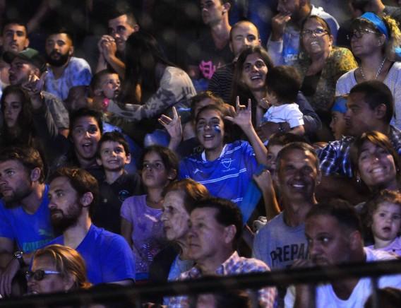 El estadio Arenas del Plata estaba colmado en la final entre Malvín y Bella Vista