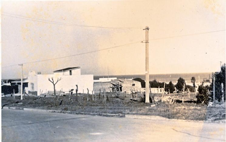 Primera foto de la esquina Verdi y Atlántico tomada por Alberto Angenscheidt