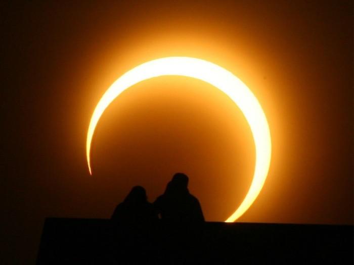 Eclipse solar parcial desde Playa Virgilio este domingo