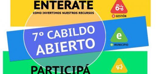 Cabildo Abierto del Municipio E el jueves 12 de abril