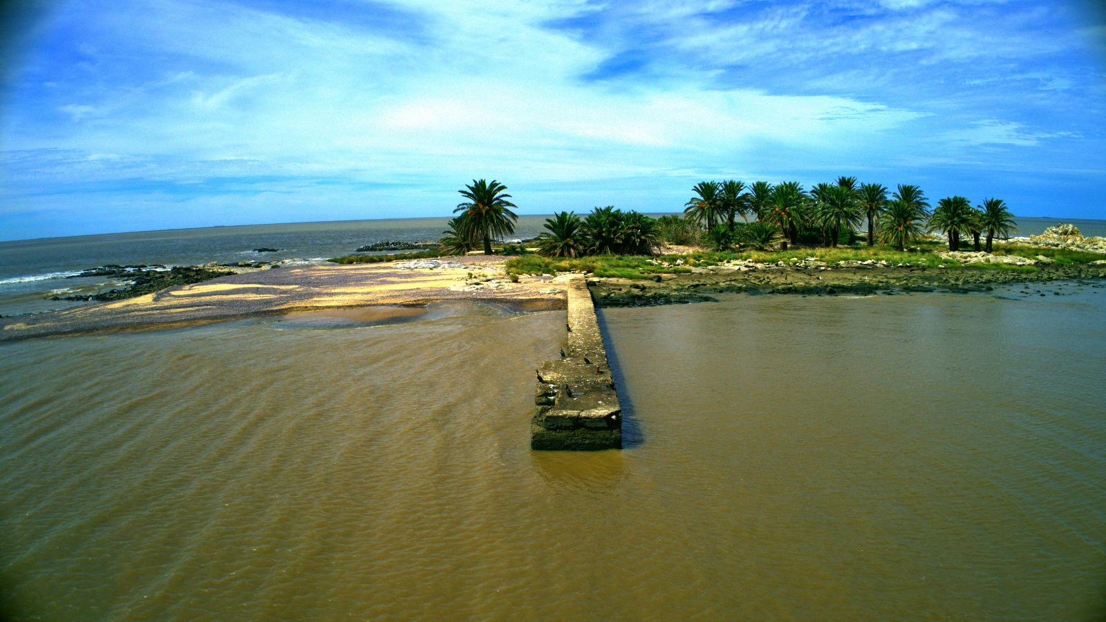El muelle de la Isla de las Gaviotas
