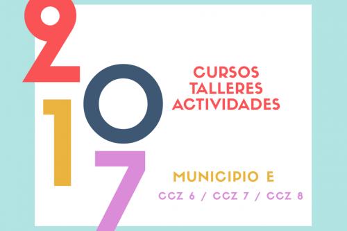Cursos y talleres 2017 en Malvín