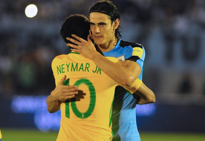 Uruguay 1 Brasil 4: derrota que duele (foto AFP)