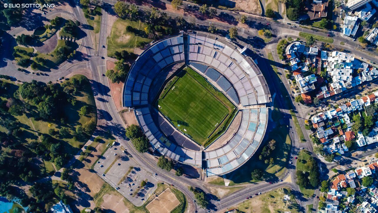 Estadio Centenario desde el aire!
