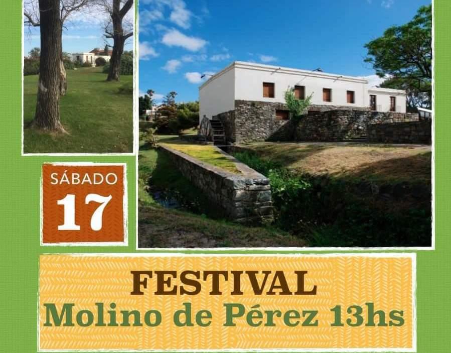 Sábado 17 de junio Festival Molino de Pérez desde las 13 horas