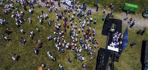 El Dron de Elio: fotos de la carrera de Malvín 2017!