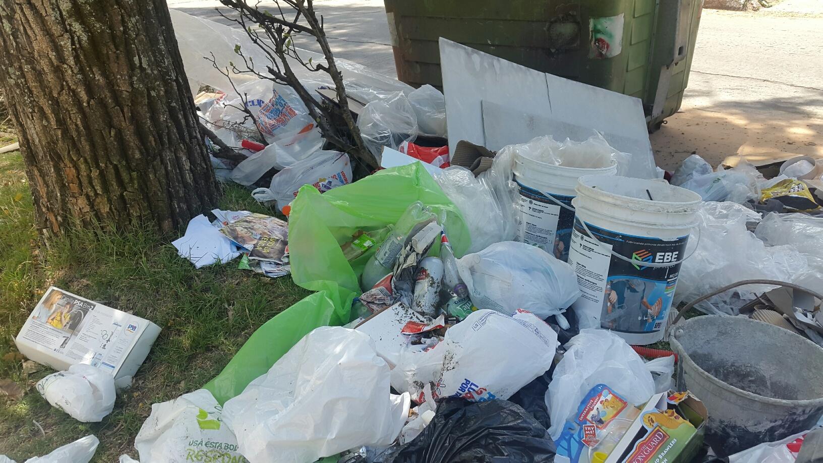 Recolección de residuos en fin de año, ¿qué pasa?