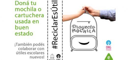 Doná tu mochila Por los Niños Uruguayos!