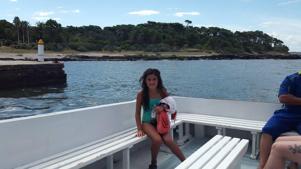 De paseo por la Isla Gorriti!