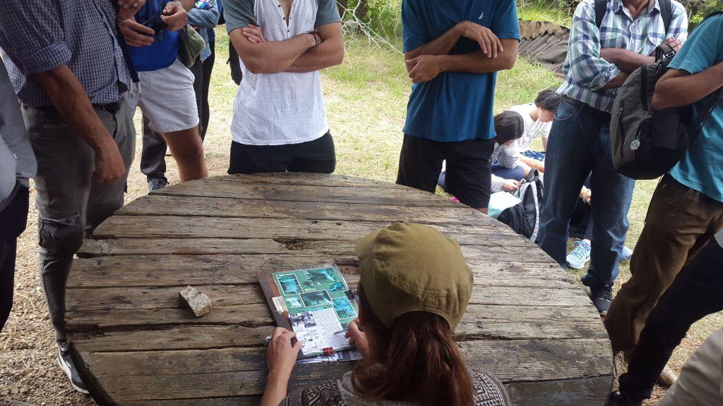 Charla antes de la visita a los Pozos Azules