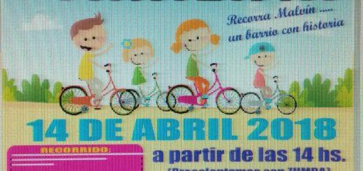Bicicleteada Familiar en el Barrio el 14 de abril!!!