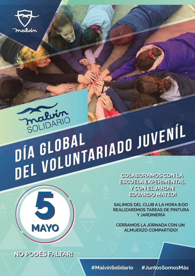 Día Global del Voluntariado Juvenil 2018: ¿qué se hace en el barrio?