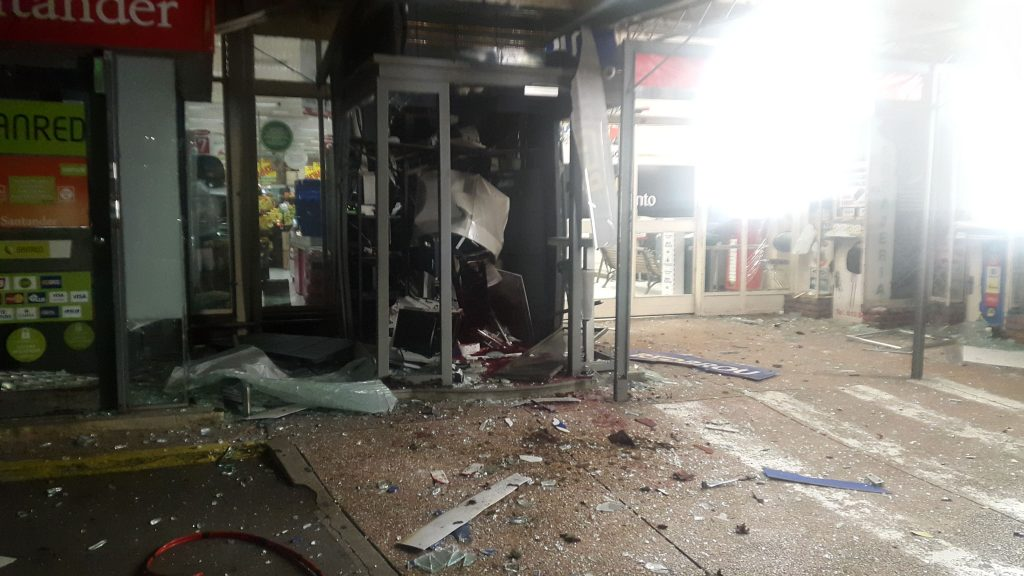 Explosión cajero automático del Disco de Legrand