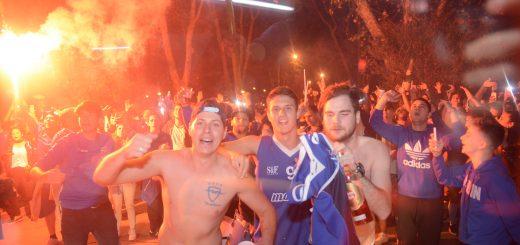 Malvín campeón 2018: el barrio celebrando el quinto título del Playero