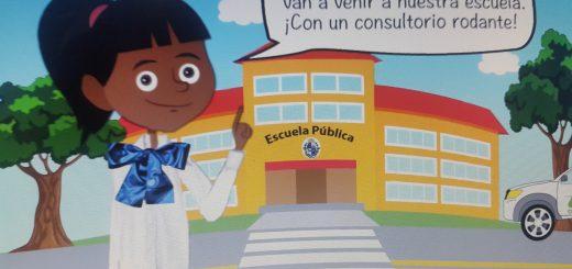 Programa de Salud Bucal para todos los niños de las escuelas públicas