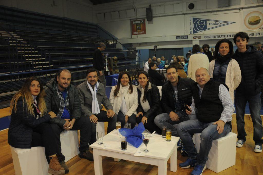 El Club Malvín celebró su pentacampeonato el sábado pasado