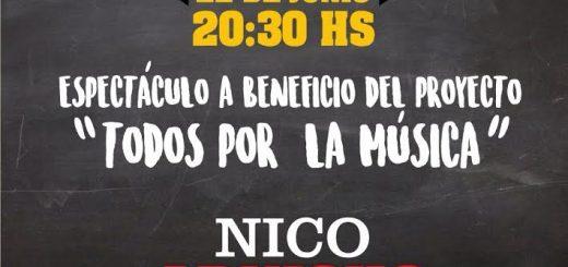 Nico Arnicho en La Experimental el 22 de junio