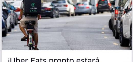 Cómo funciona Uber Eats en Uruguay?