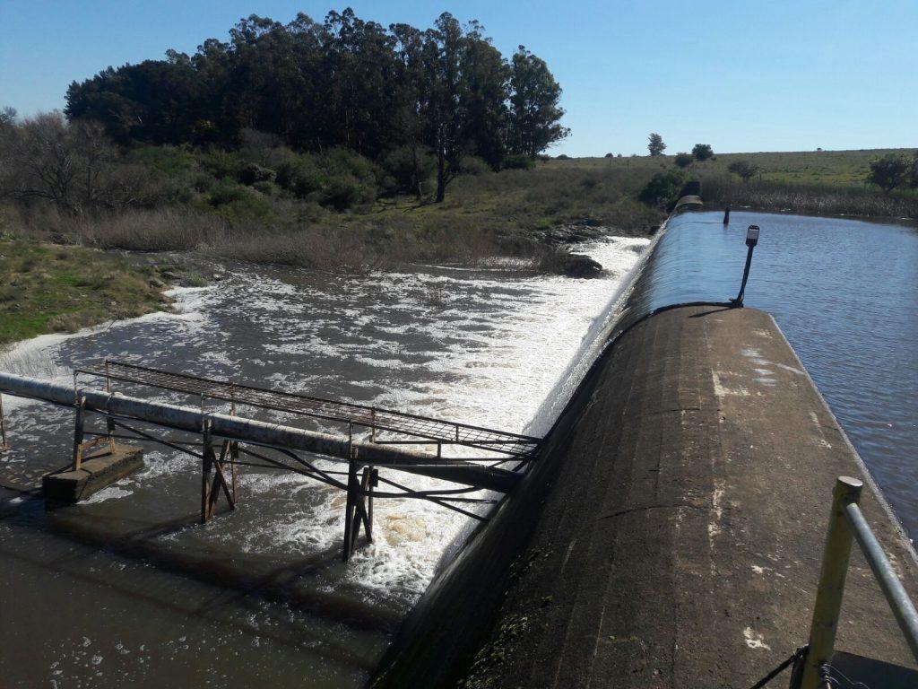 Represa de Aguas Blancas en Lavalleja
